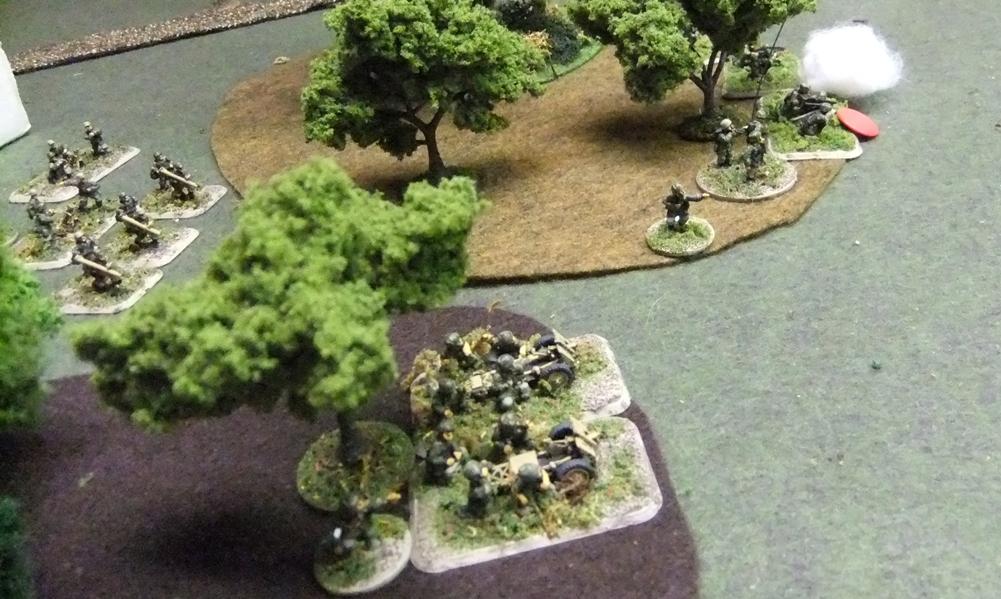 German base of fire