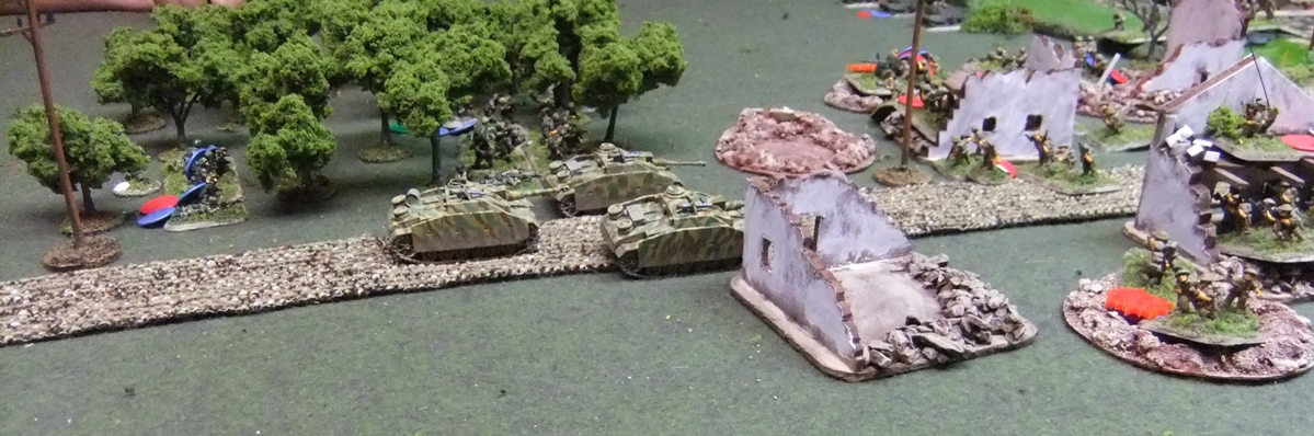 StuGs give close support