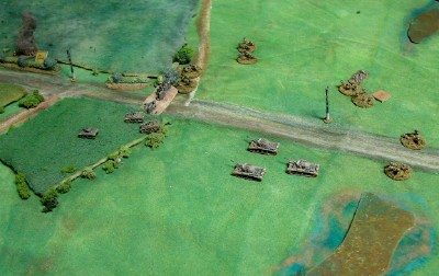 Overview of British Advance