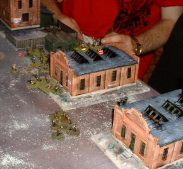Kelvin and Clive's troops protect the Lard Factory from being outflanked