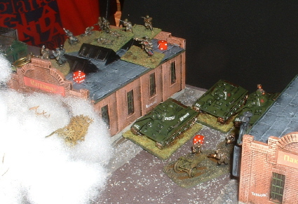 But, reserve T34's (courtesy of Rob Avery) lie in ambush