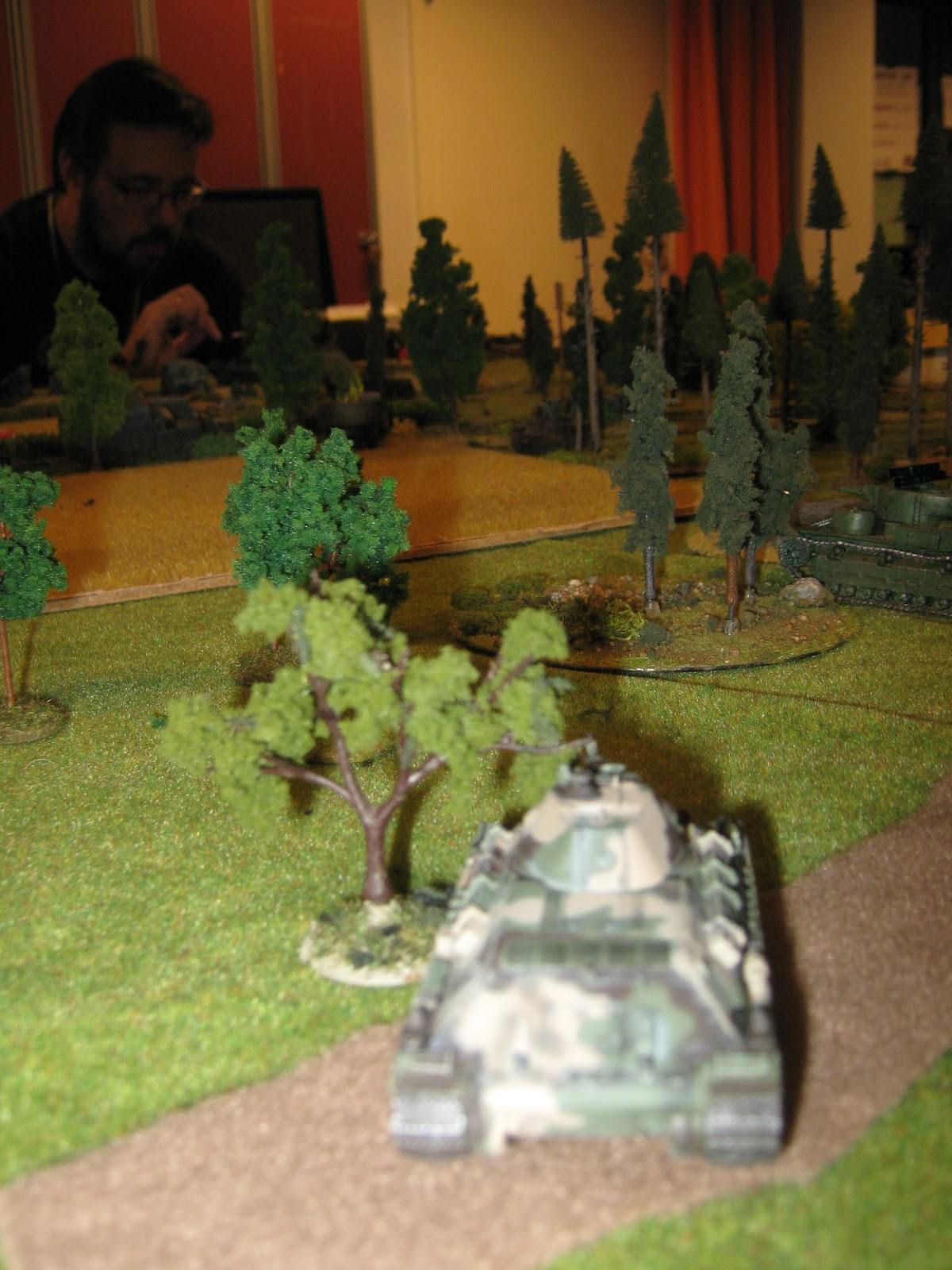 … and after a while a T-34!
