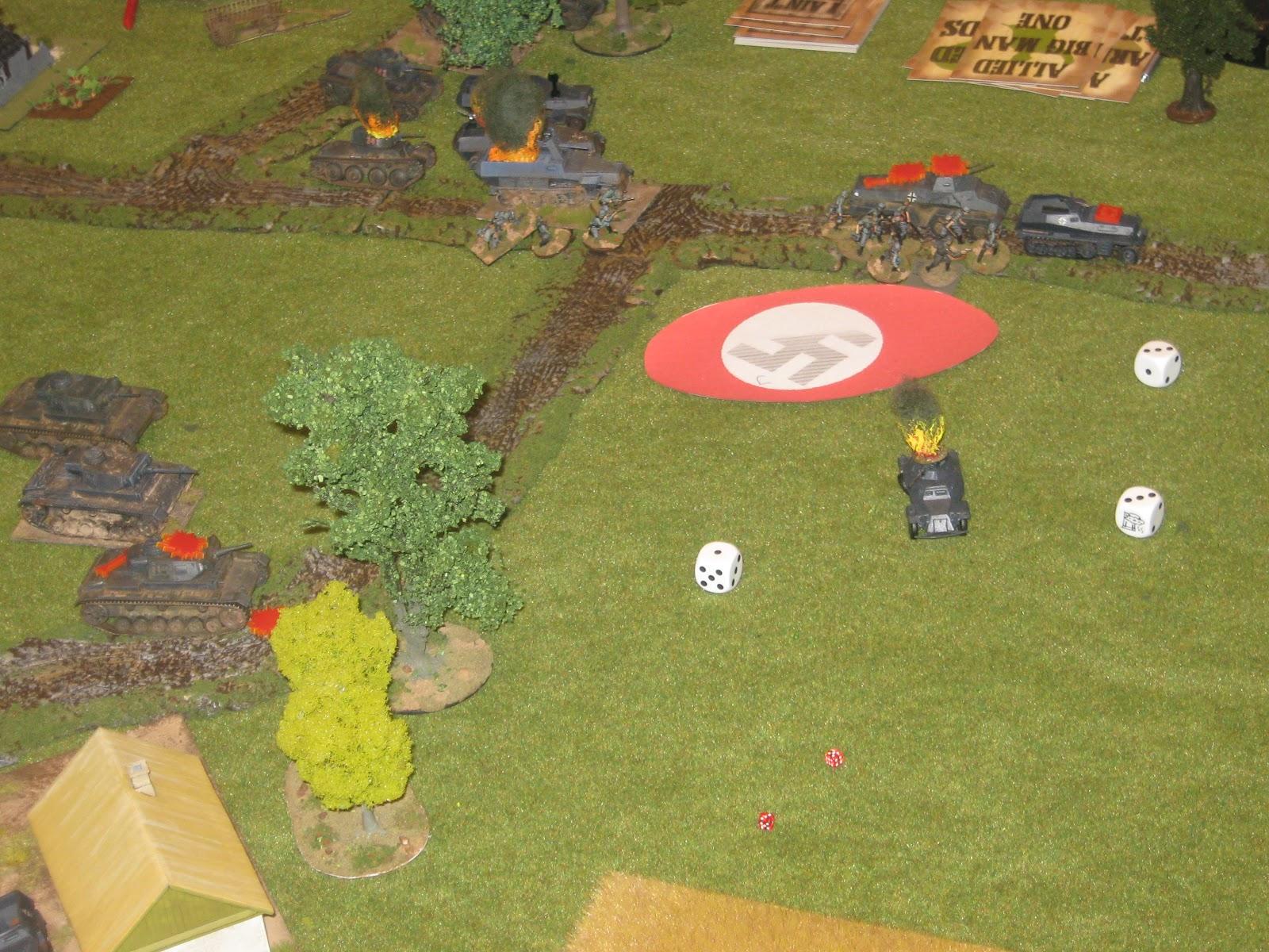 The anti-tank gun is still going strong…