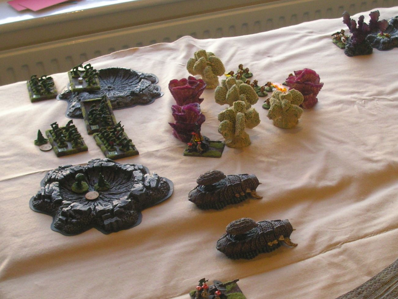 Vornid infantry in a commanding position