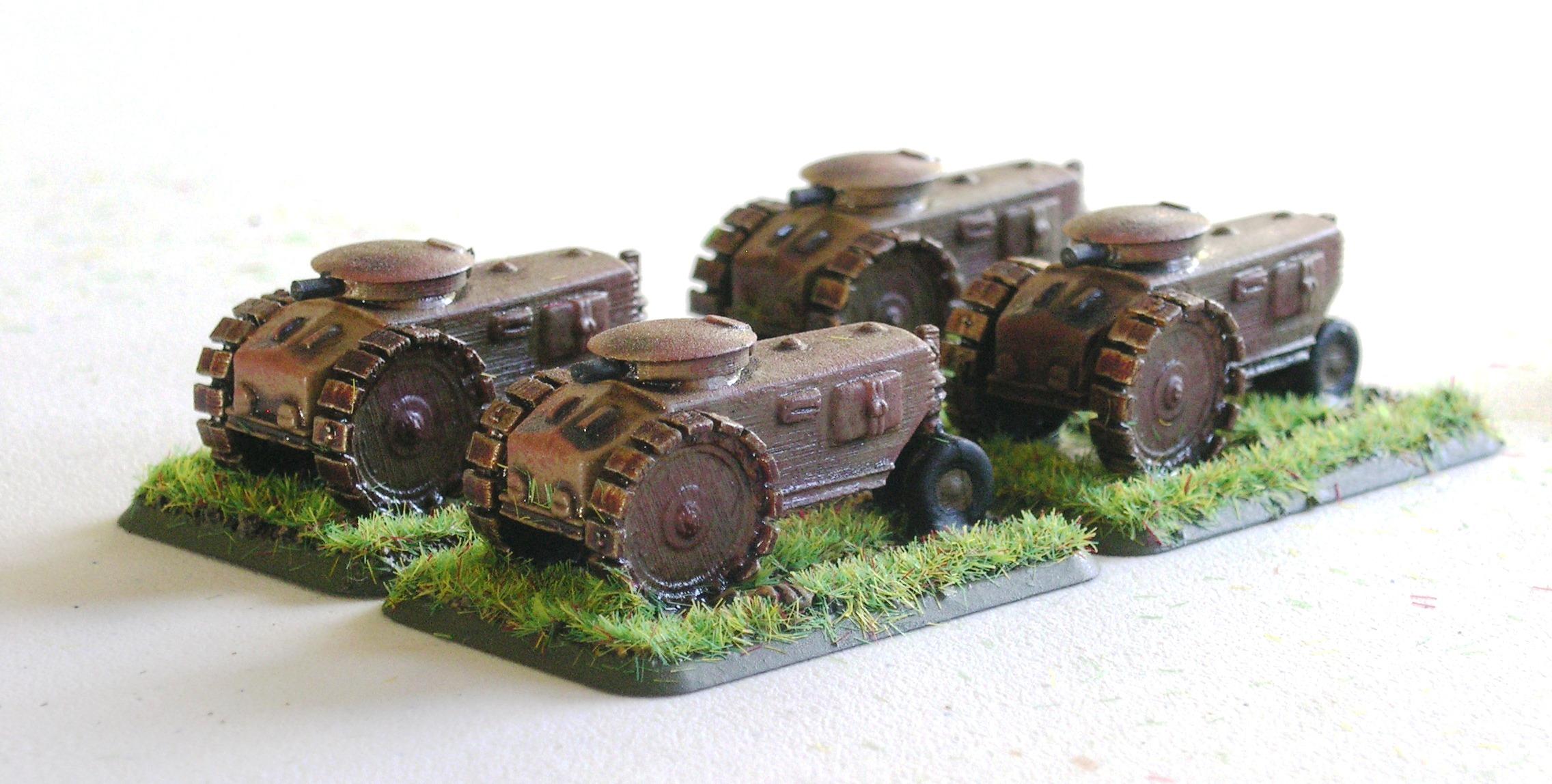 Sothwyr armoured wagons