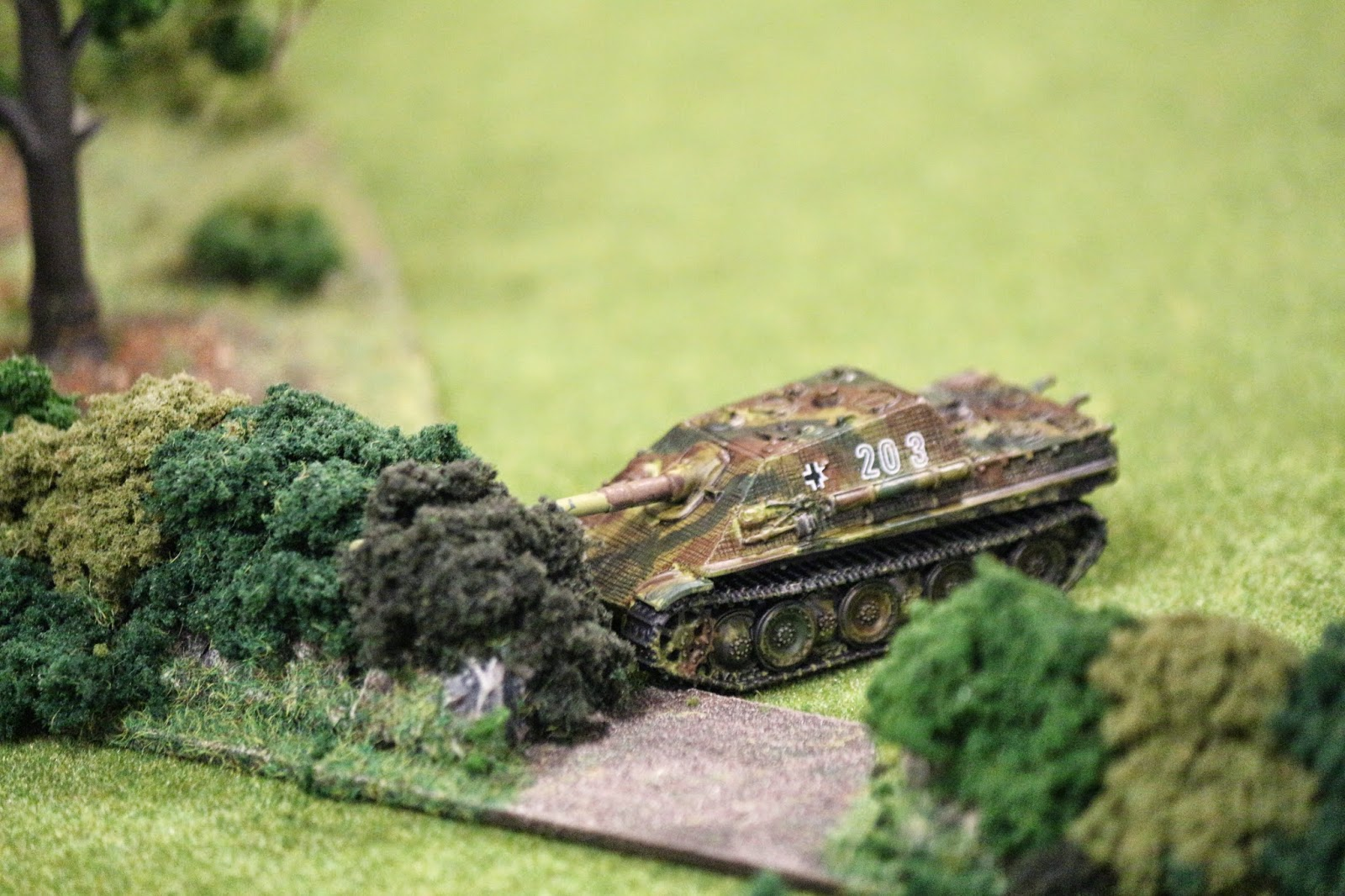 A Jagdpanther in its natural habitat.