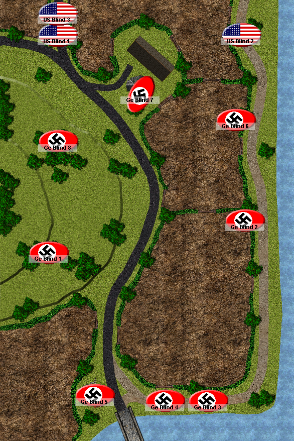 Turn 1 – The Allies approach