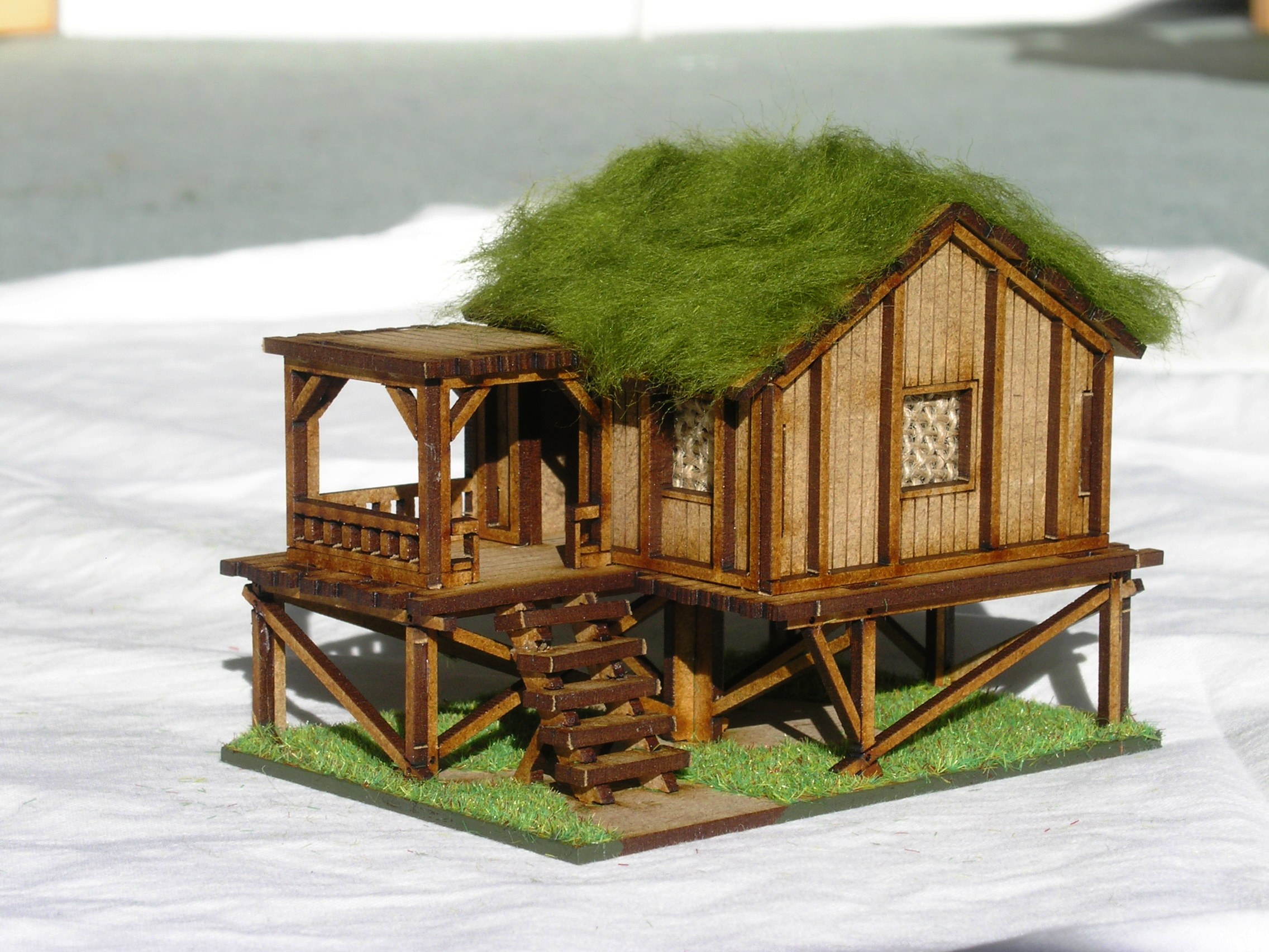 Building Five: Planked Style Village House