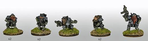 Khurasan's Thrainite Troopers