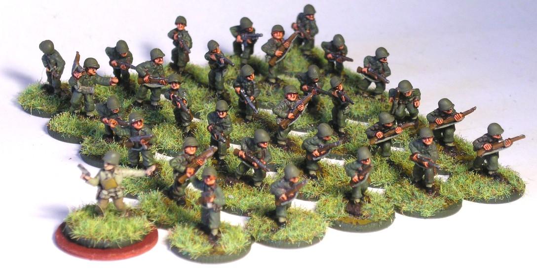 combat engineer platoon INFANTRY (3 x engineer squad)