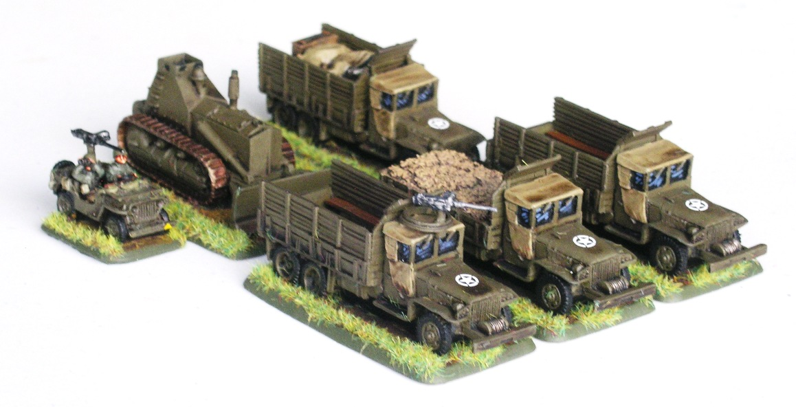 Combat Engineer Platoon VEHICLES