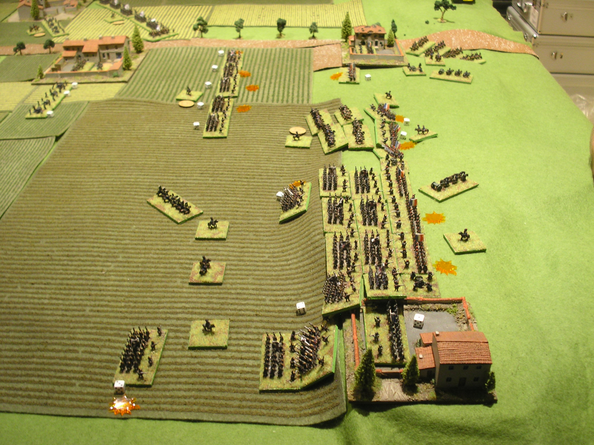 prussians assault the ridge