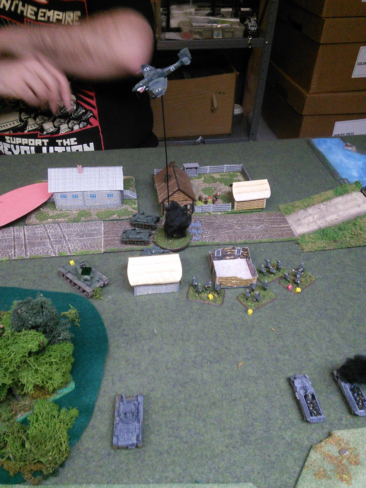 stuka doing a little better going after the t-26s