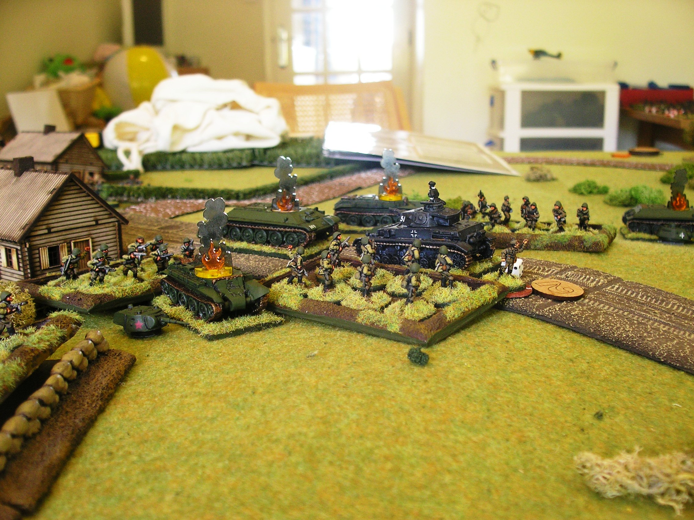 Panzer IV under siege!