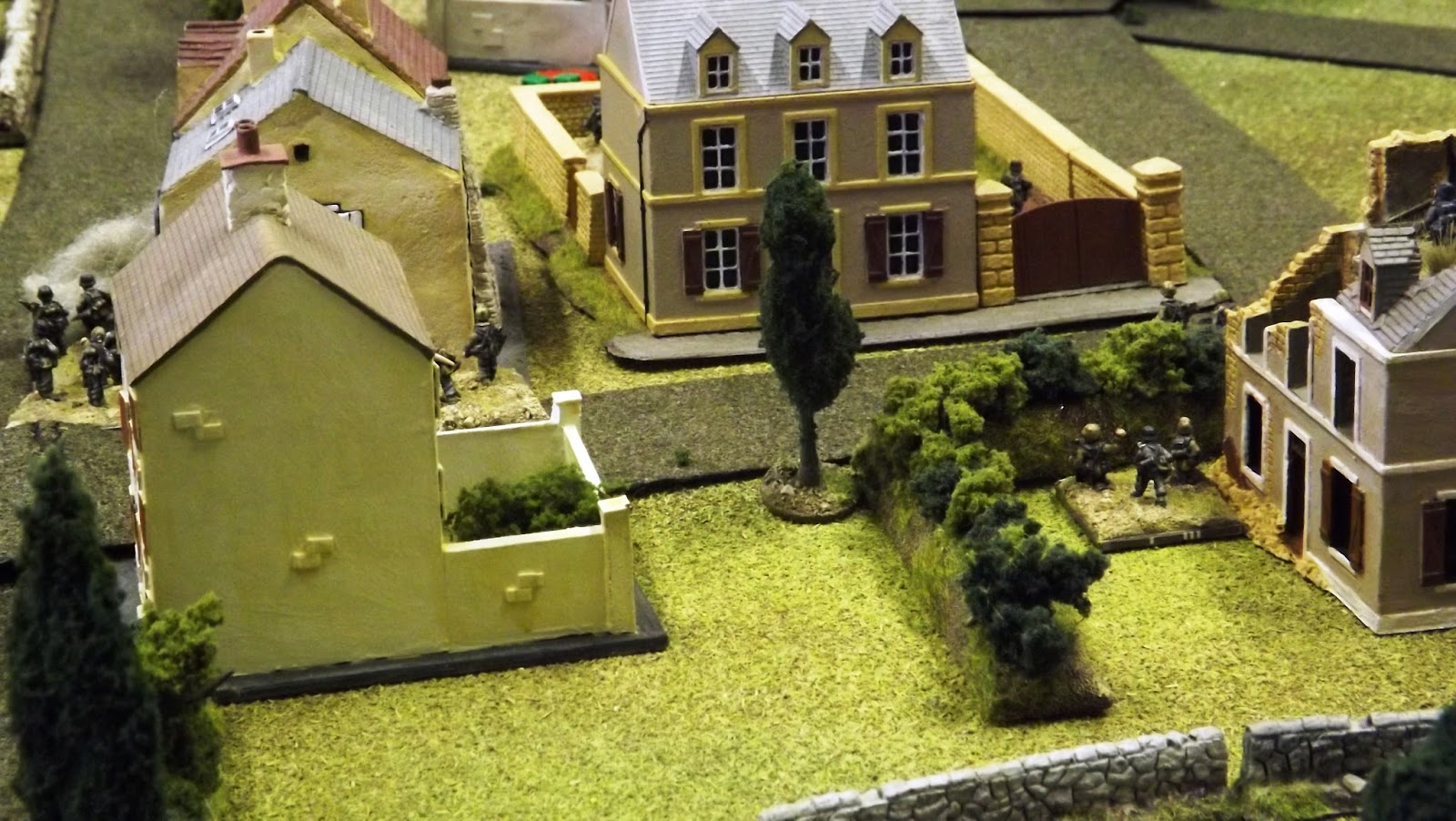The staccato of small arms fire erupts as Colonel Ewell's men enter town