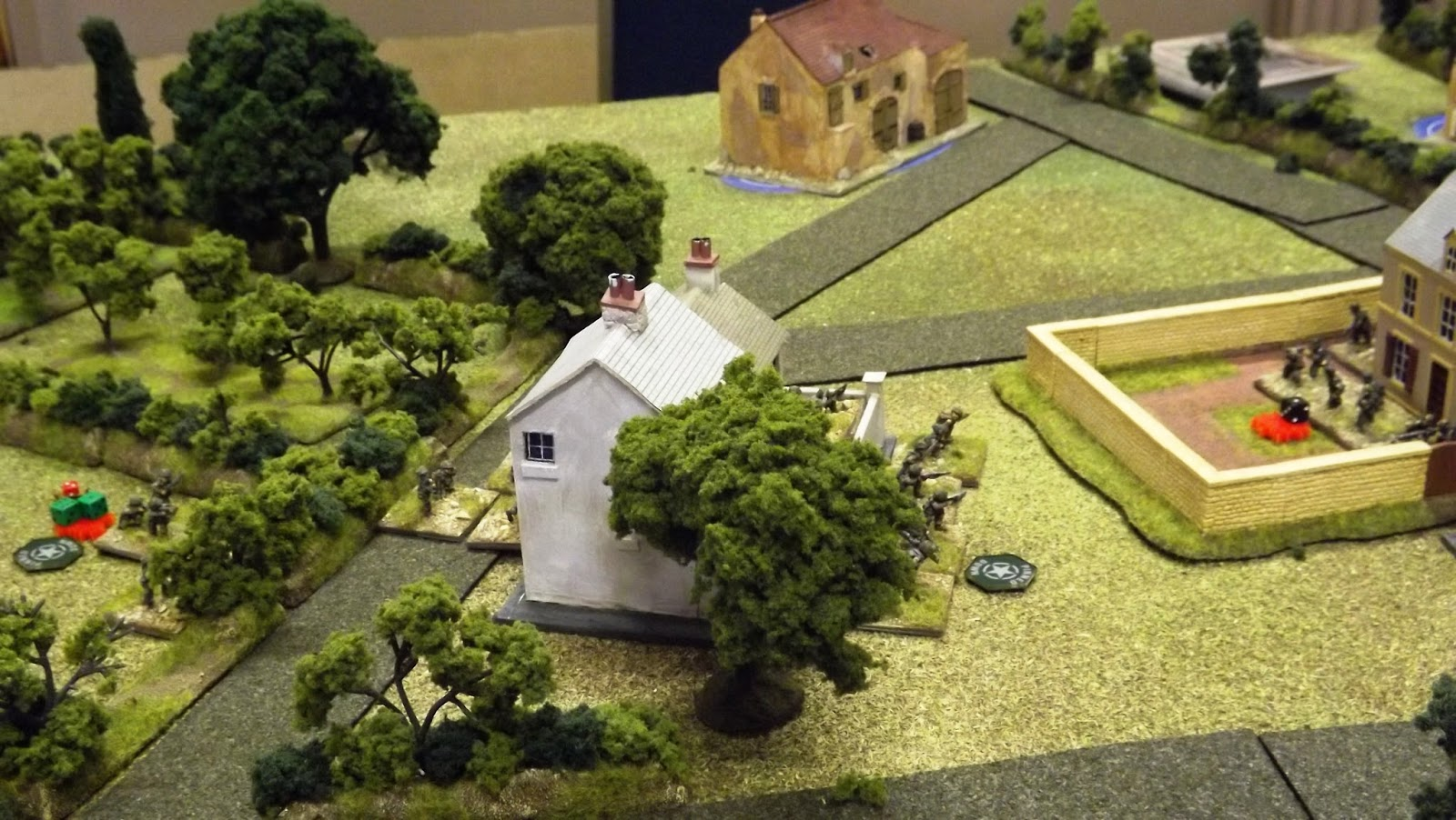 US Paras held up and stymied by determined German resistance