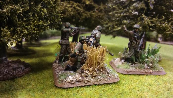 Ze Germans – the survivors of Darrens assault on the wood, shaken AND stirred!!