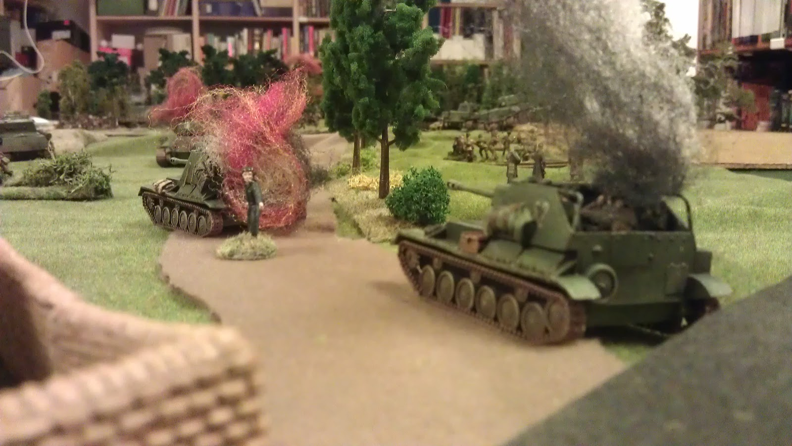 SU-76's got rotten armour...