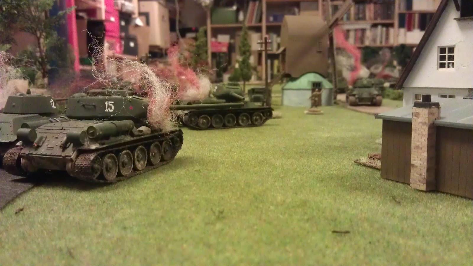 The tank graveyard