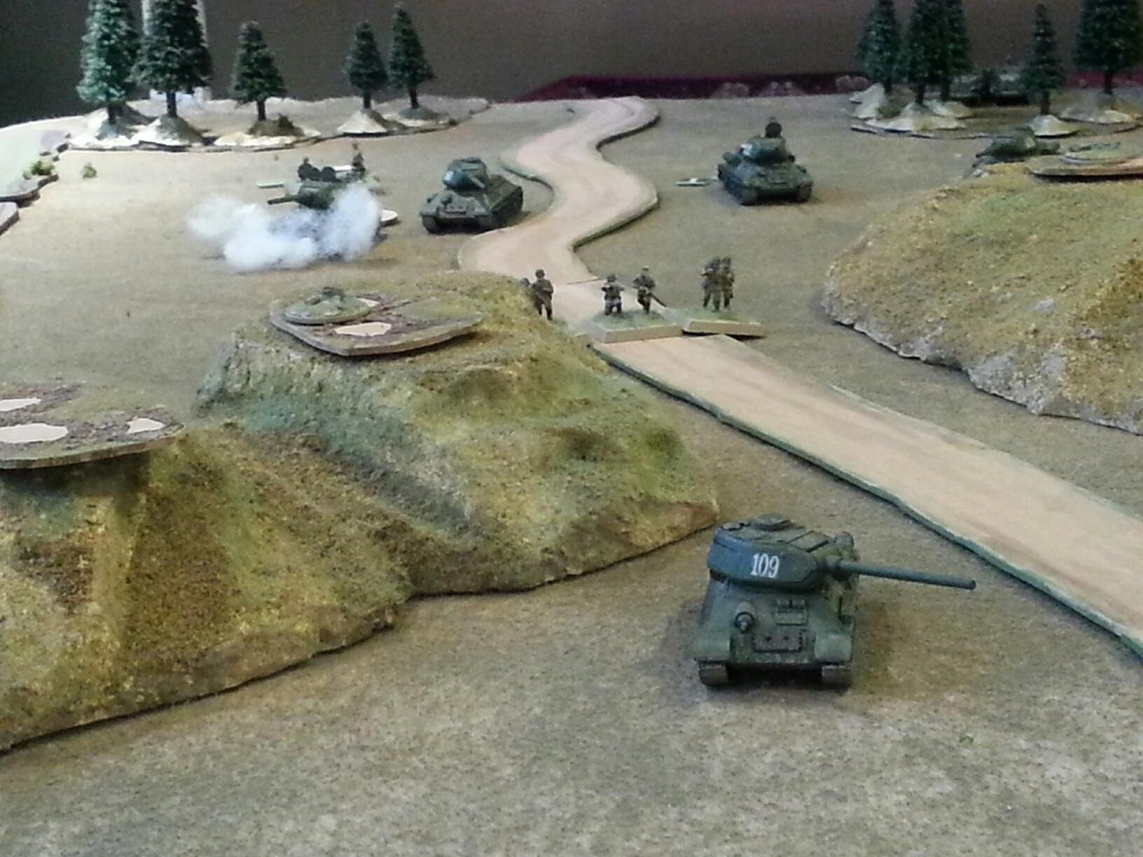 T-34s at the Gap