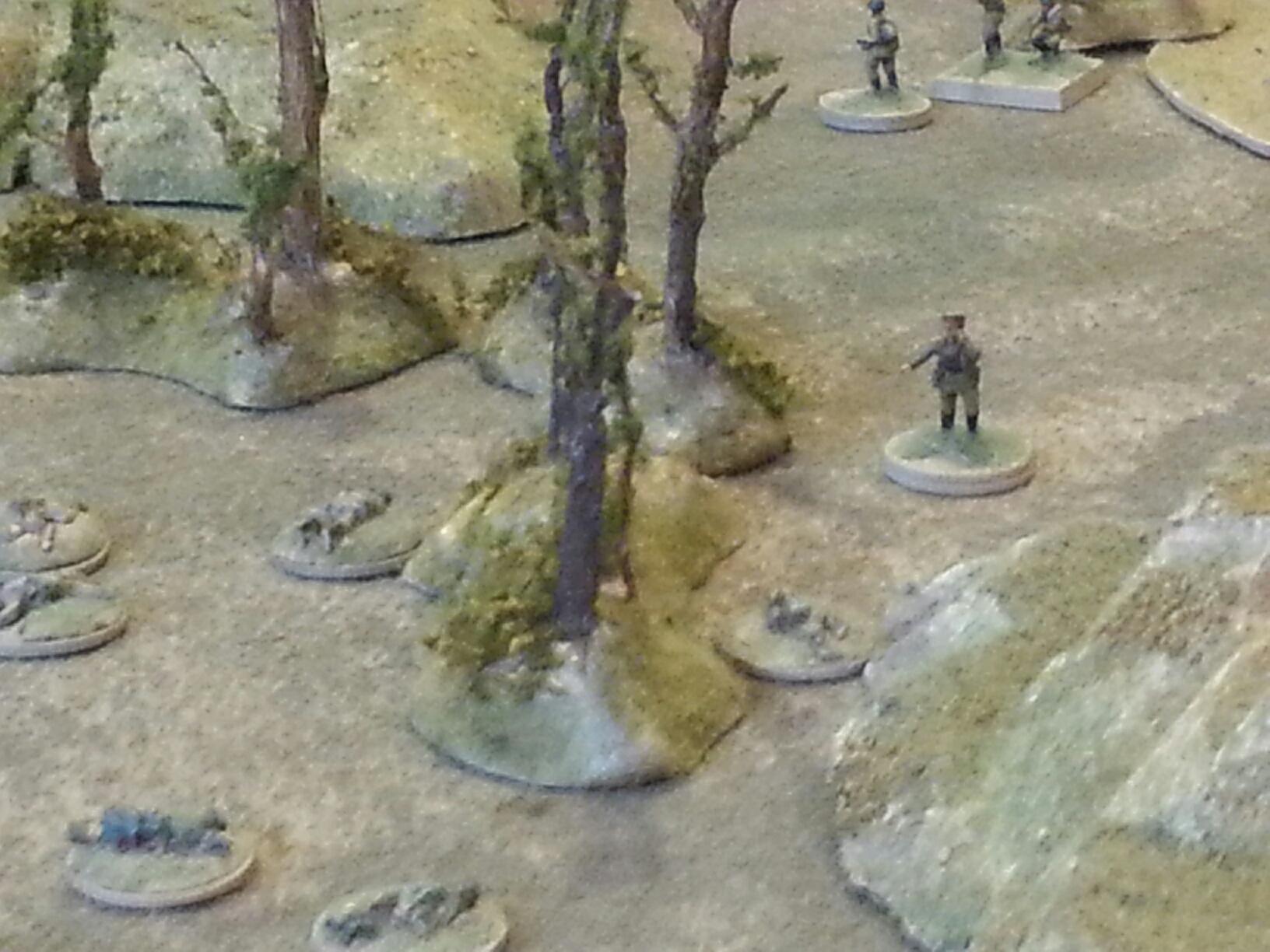 Capt. Bederov surveys the carnage, and wipes a tear