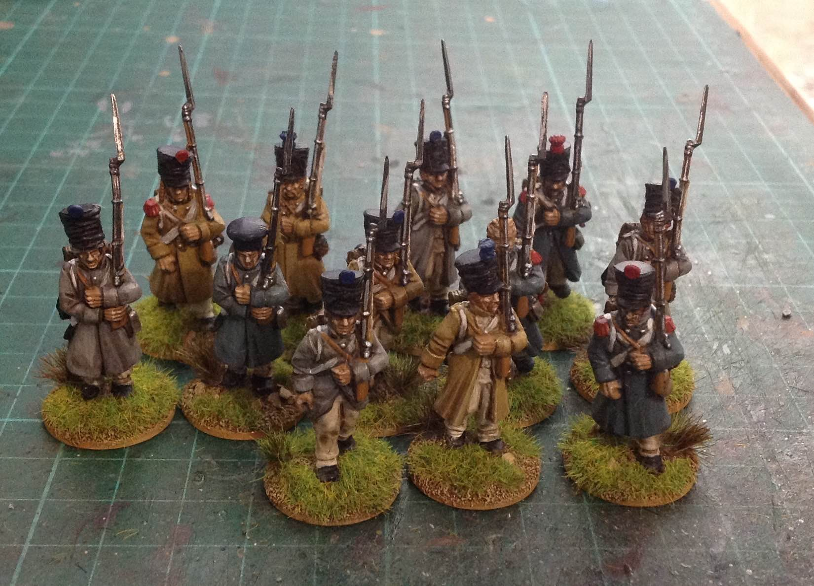 Mr Baldwin's cracking French infantry