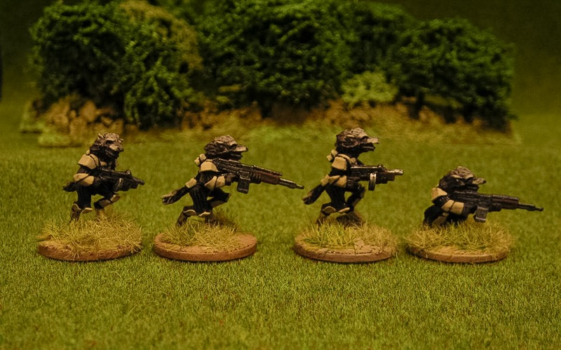 Squad support weapons