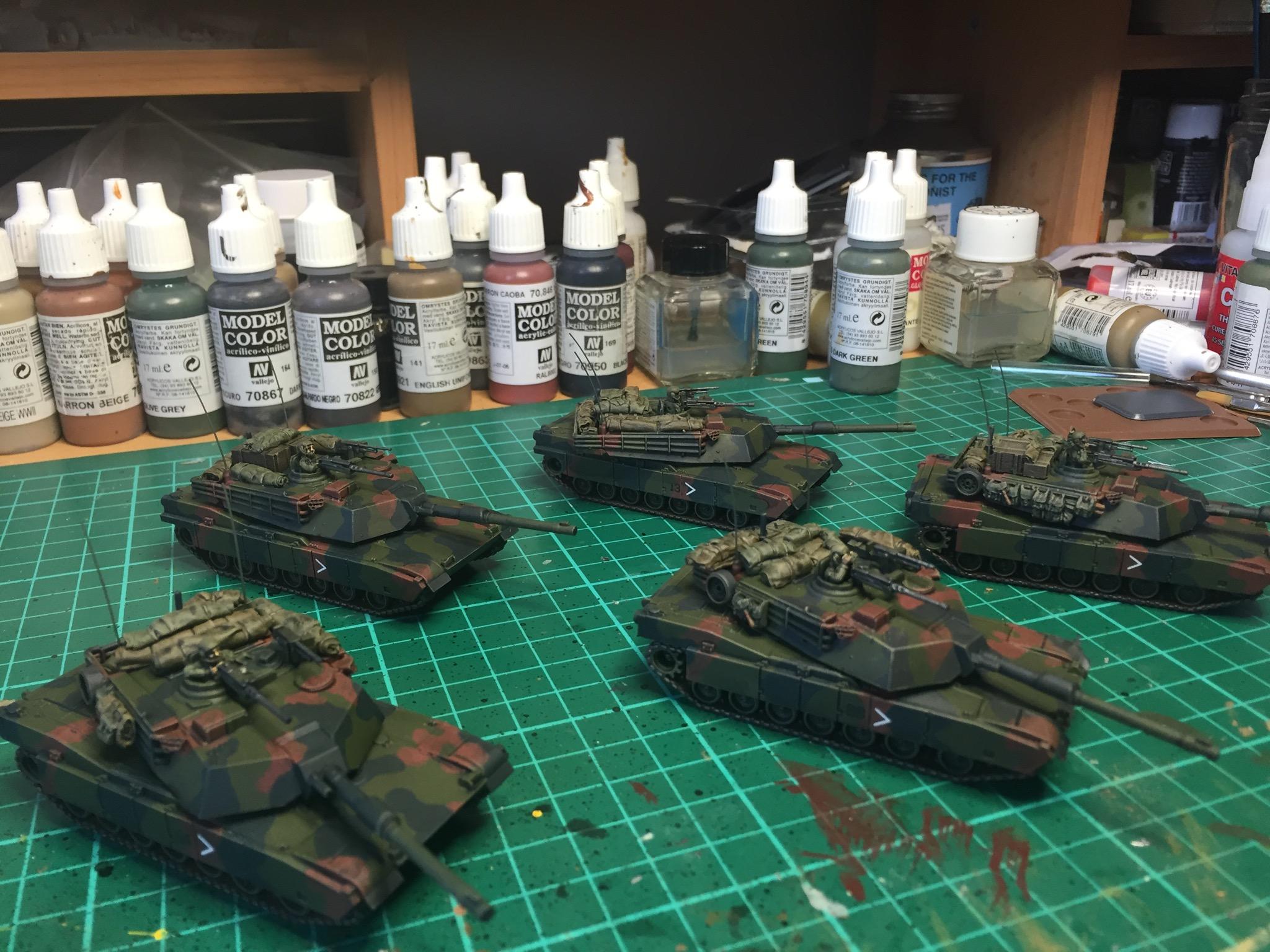 Egg's tanks