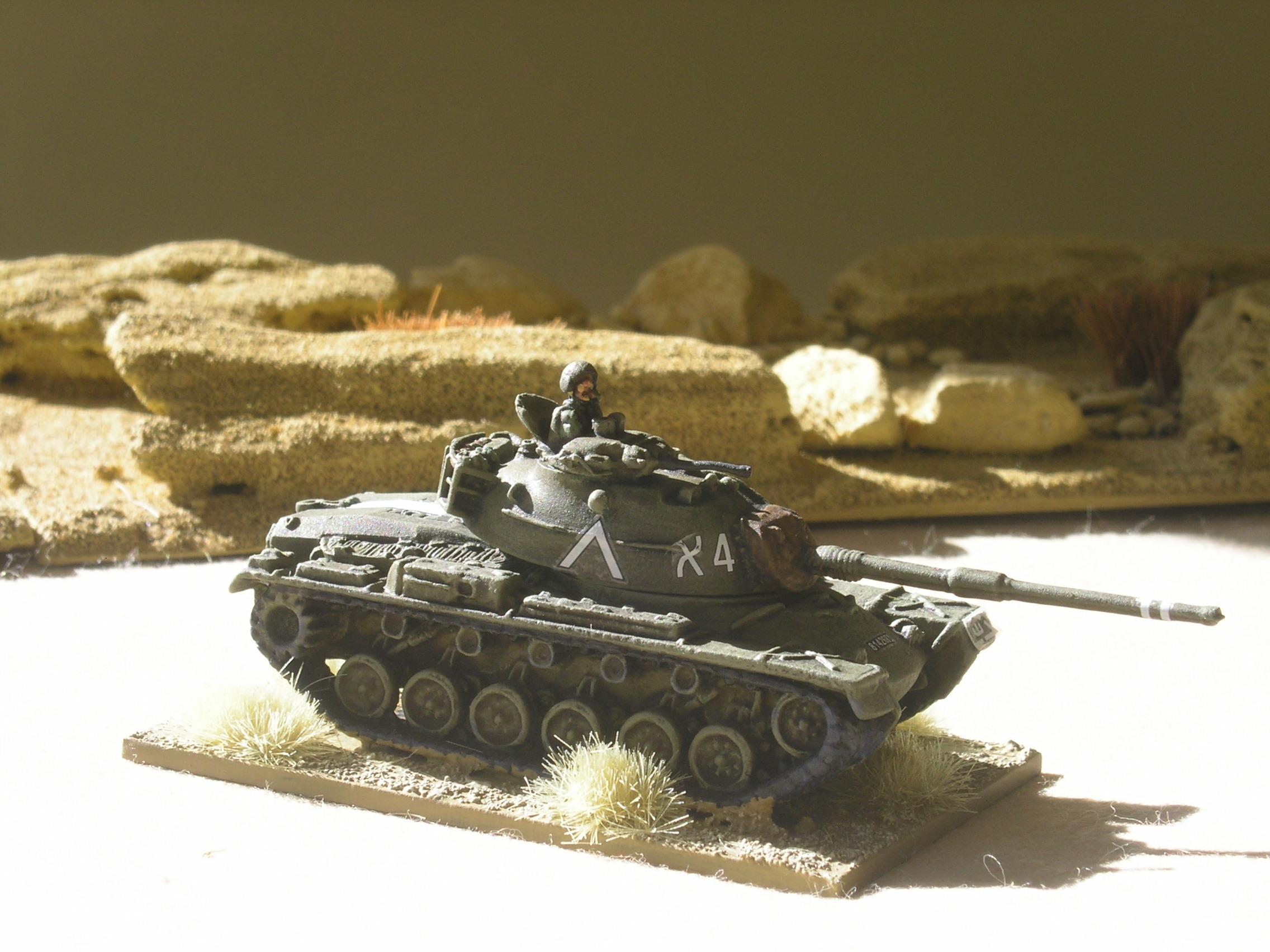 MAGACH/M48 (upgunned to a 105mm gun)