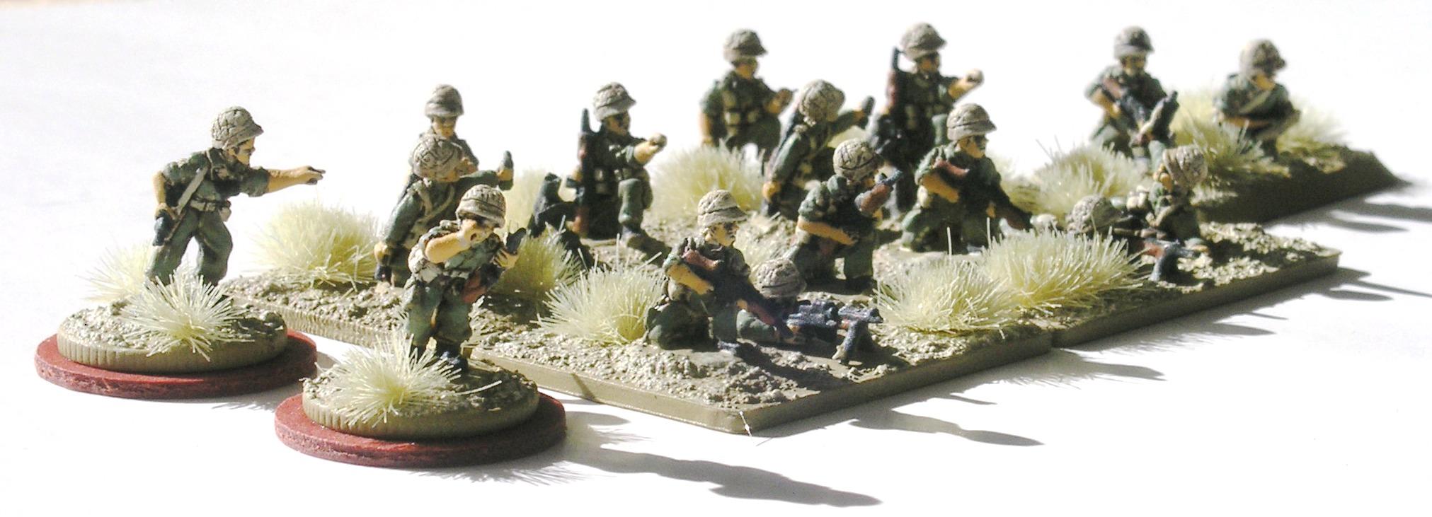 Company HQ & Weapons Squad