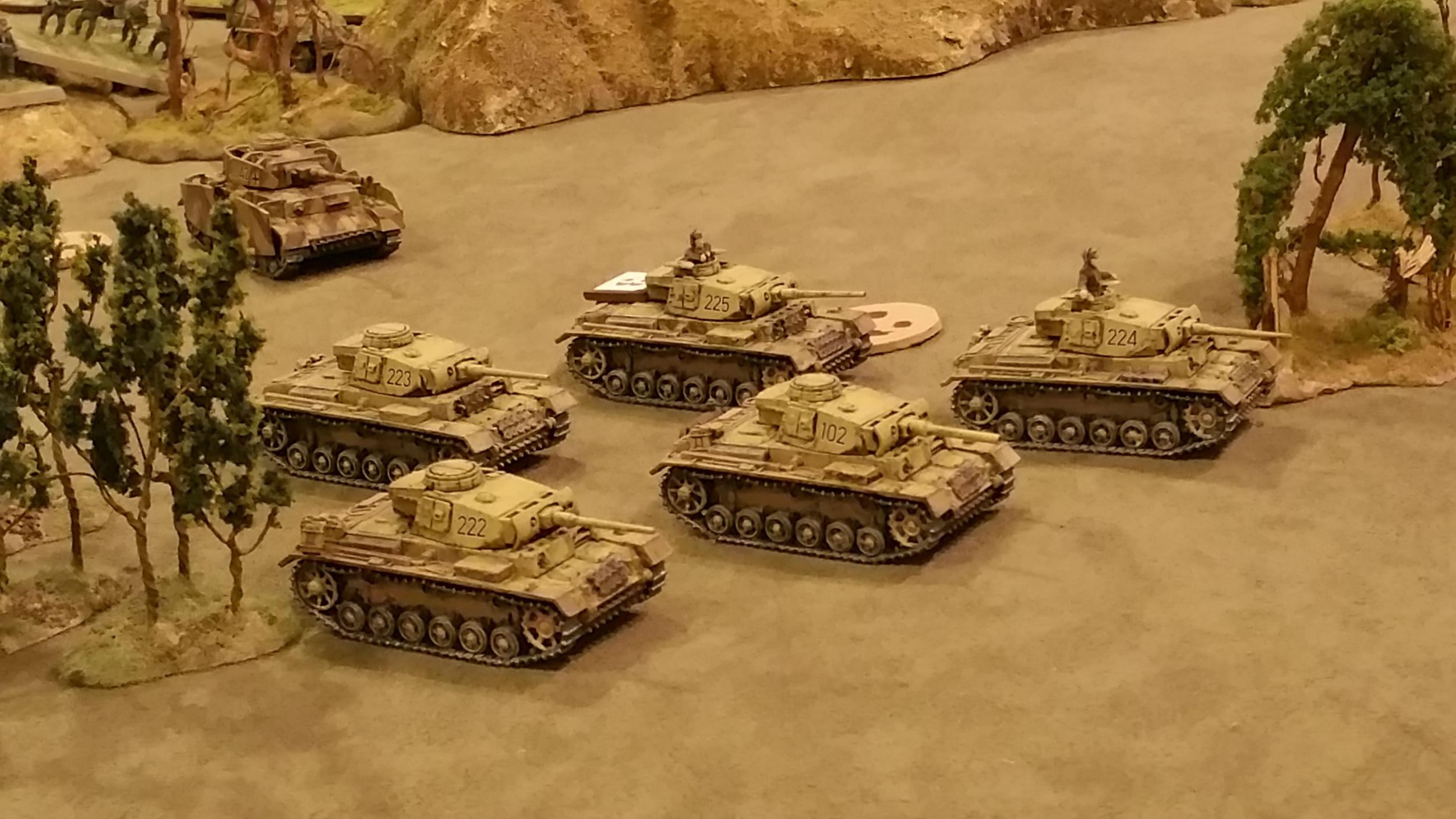 Panzers forward to the assault