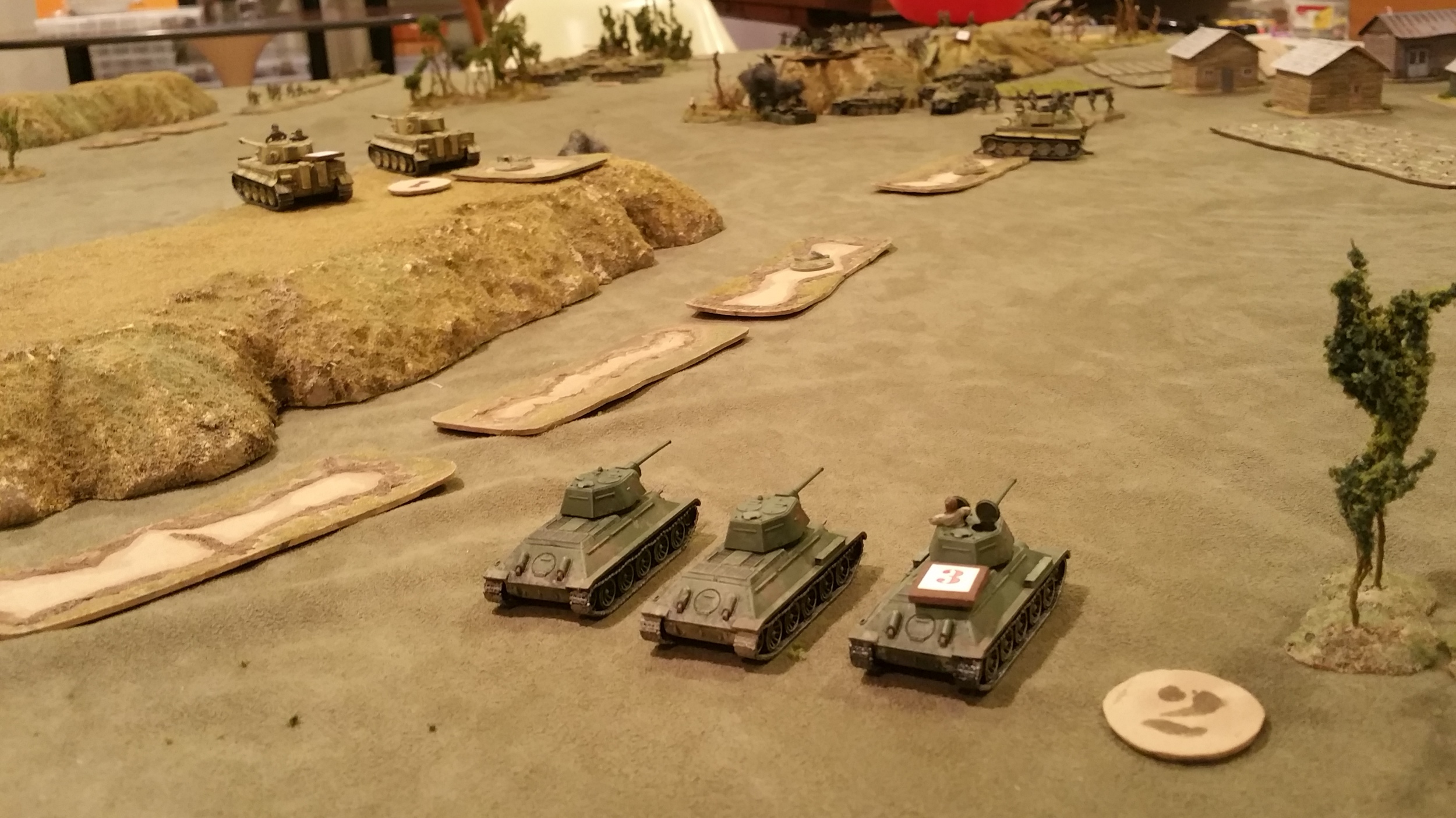 T-34 platoon 2 snipes at halftracks