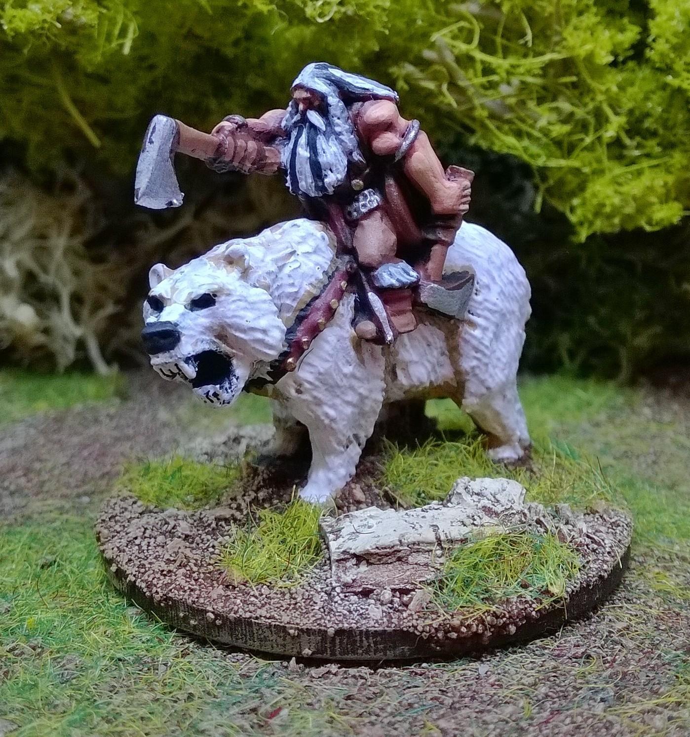 Matt Slade's 15mm Barbarian Hero