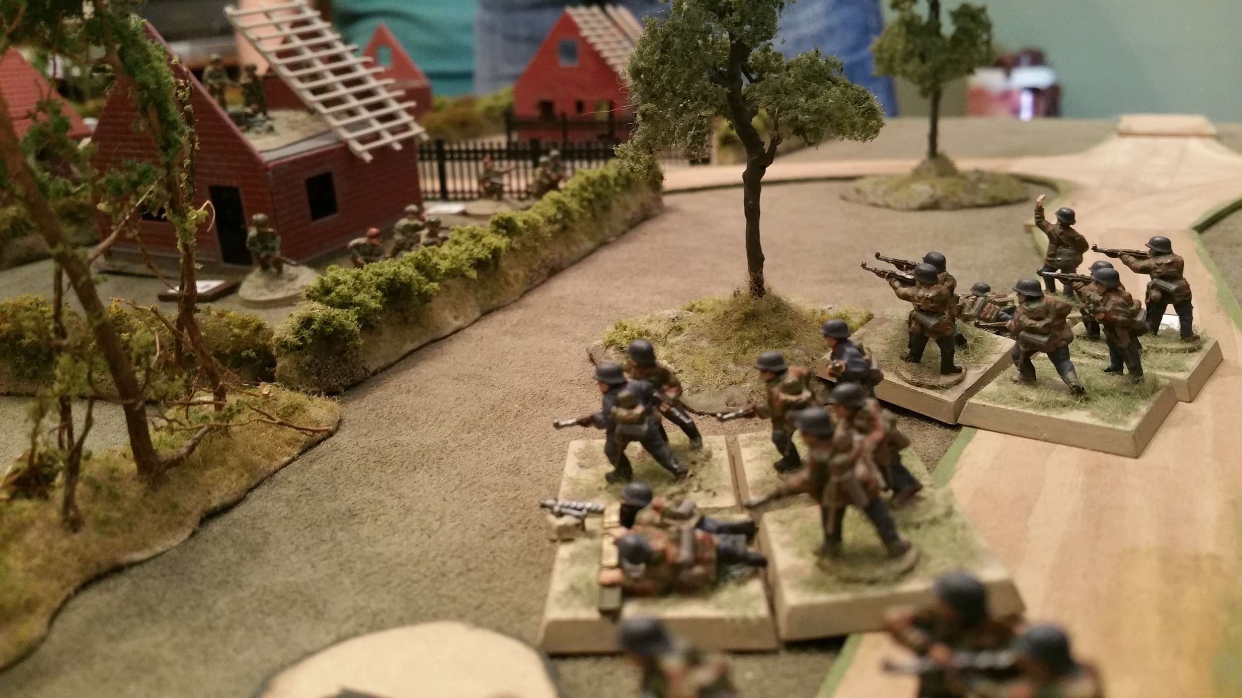 German Scratch Platoon Blitzes