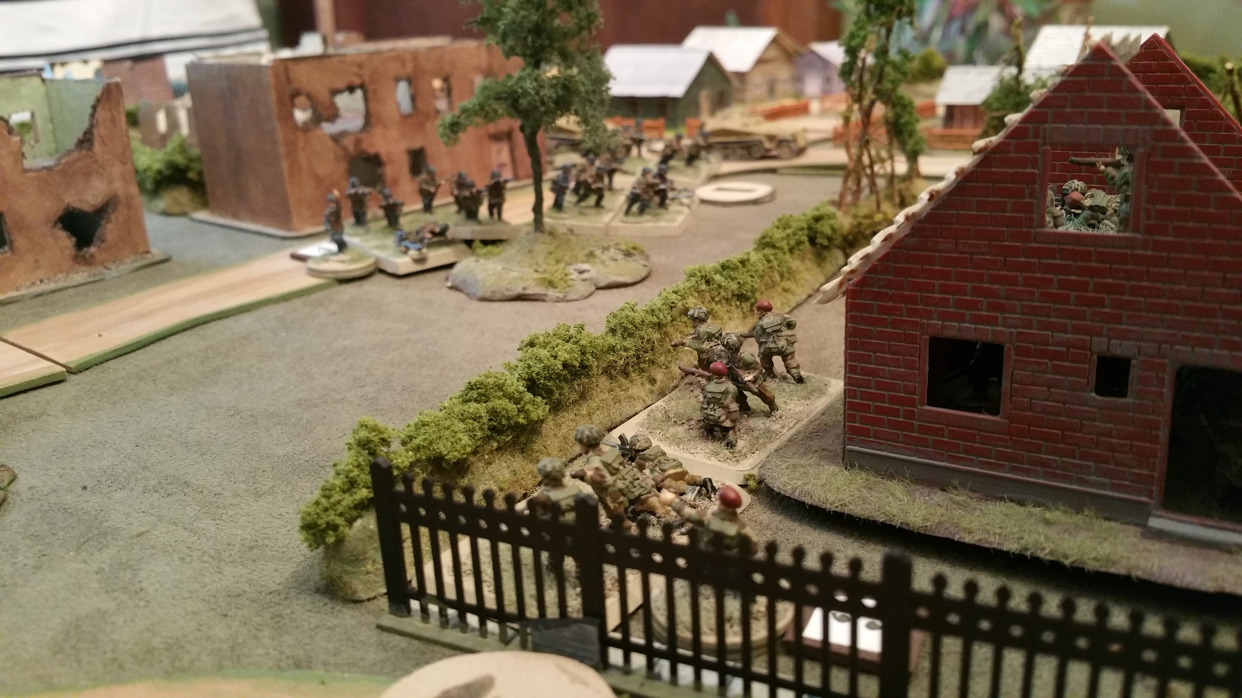 Forward Platoon Springs an Ambush