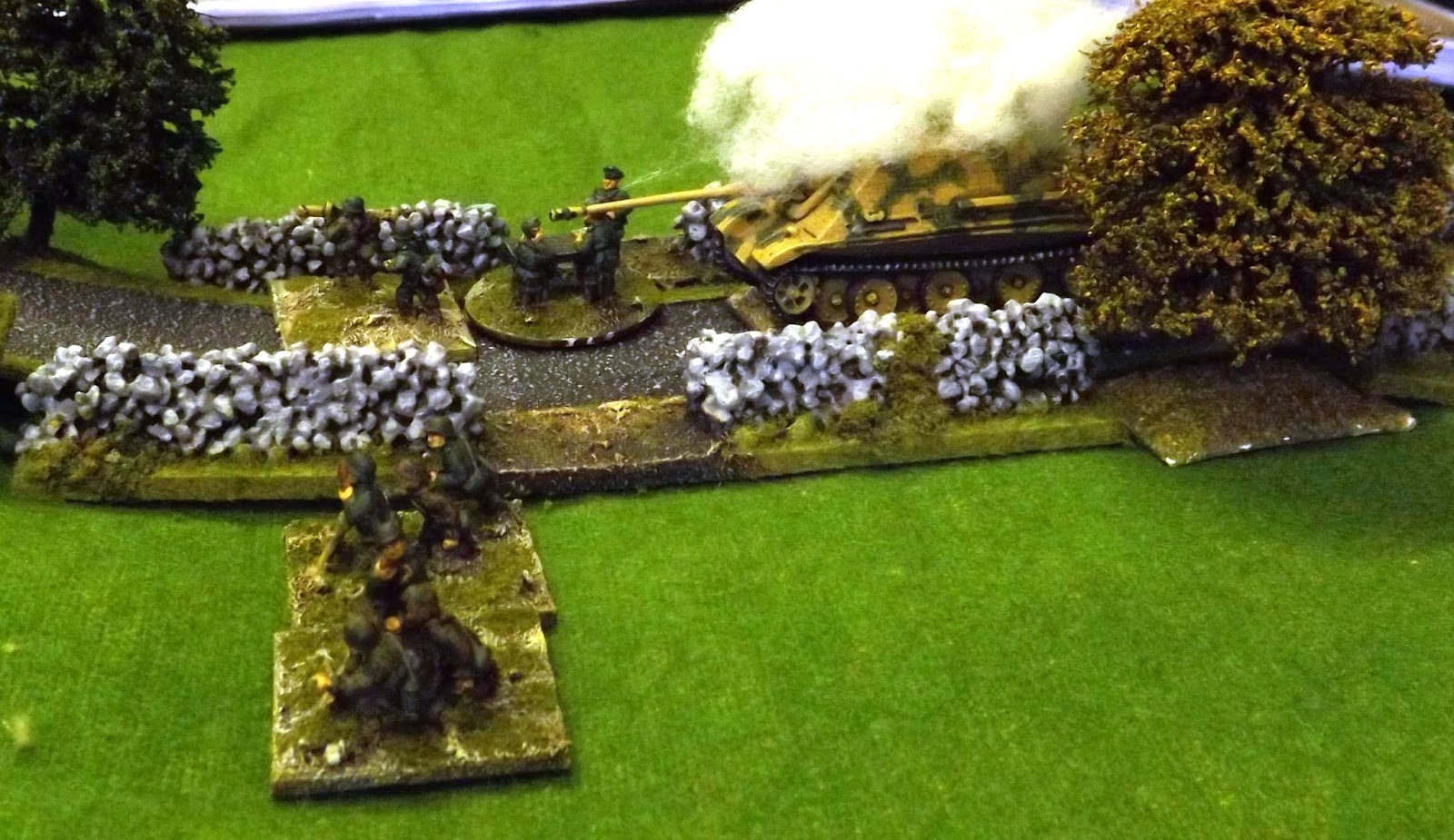 With the defence hard pressed the German command struggle to hold the line