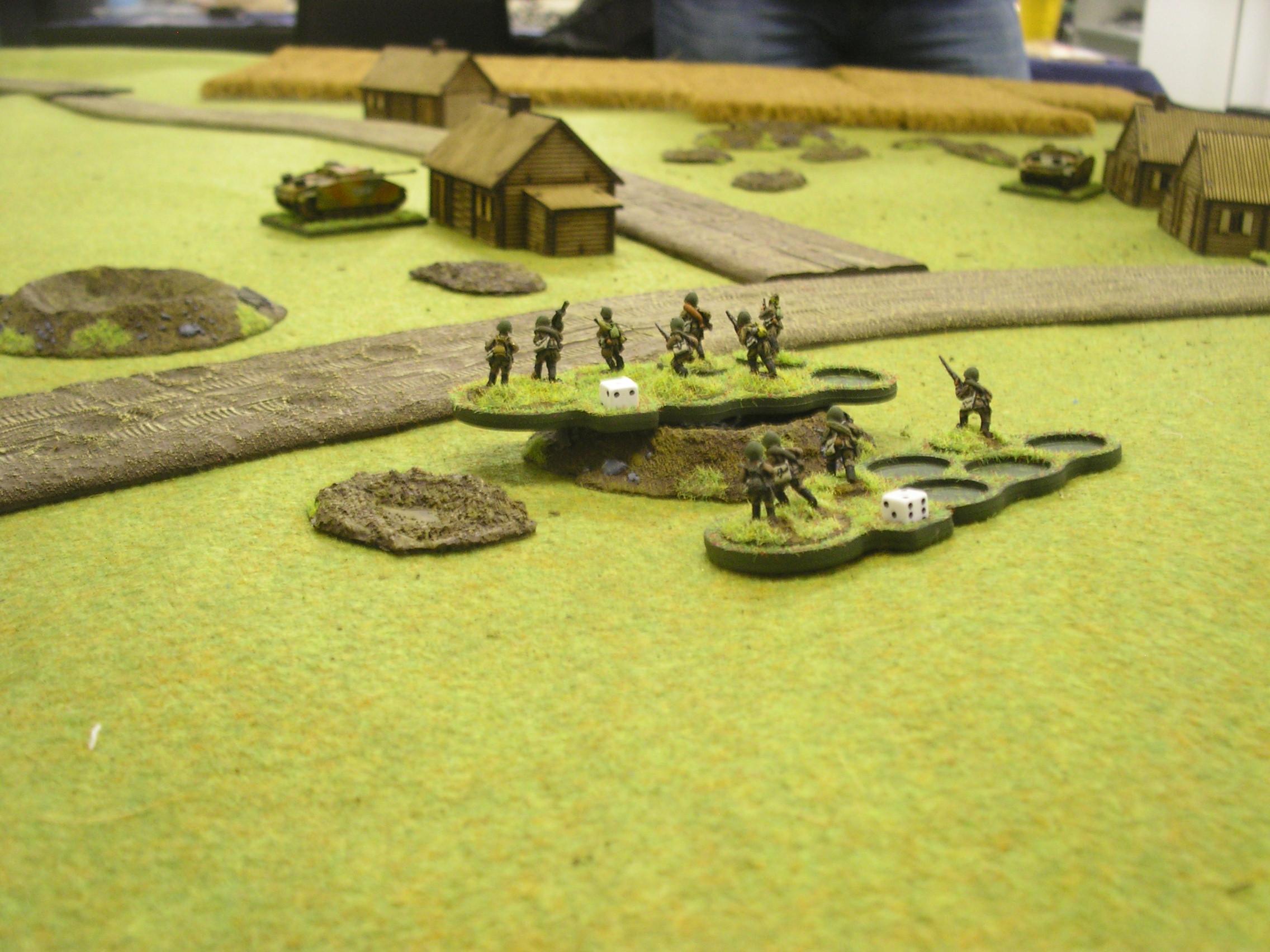"""Soviet infantry heading for the """"winning junction"""""""