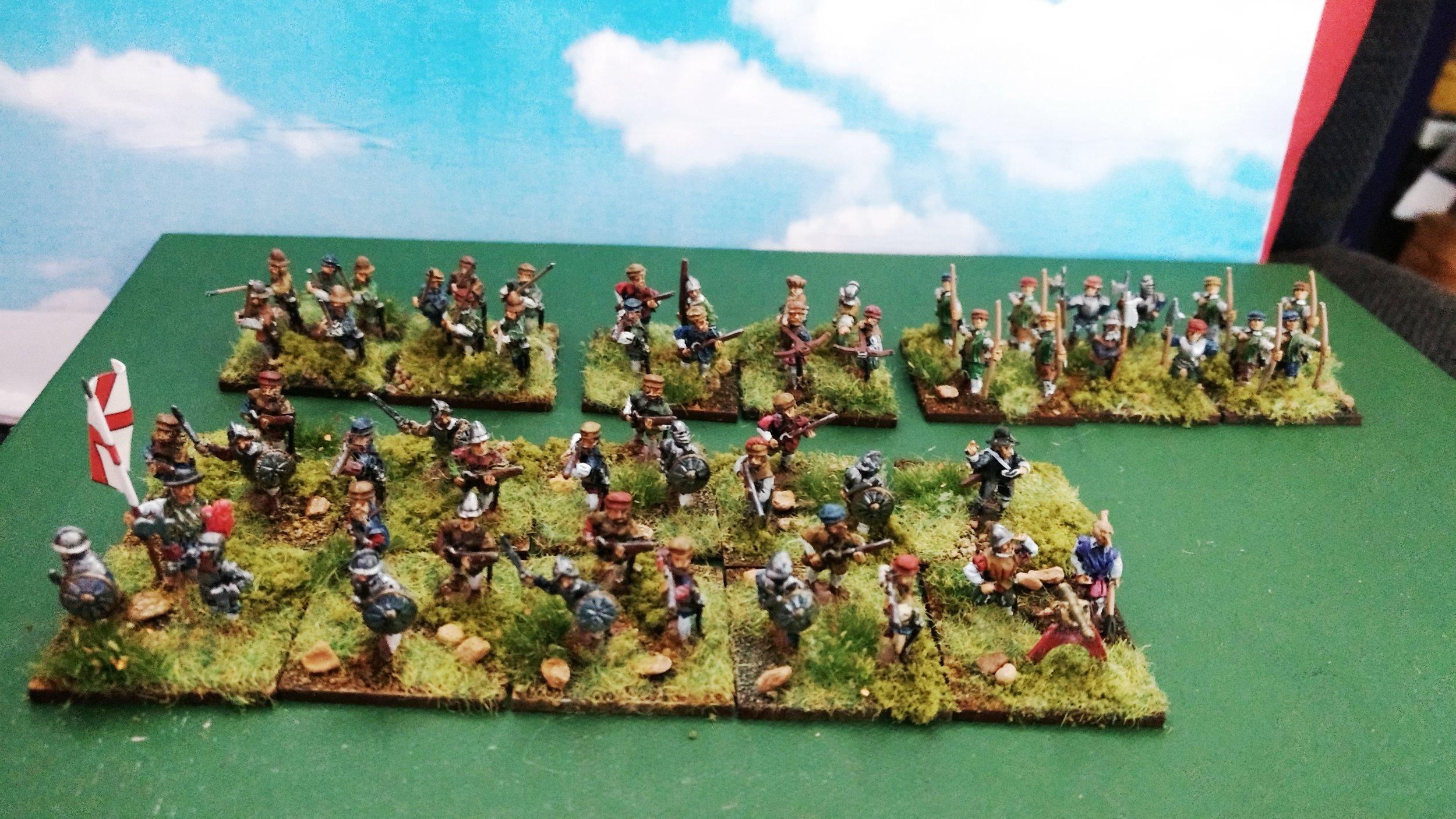 Mr Helliwell's Tudor colonials