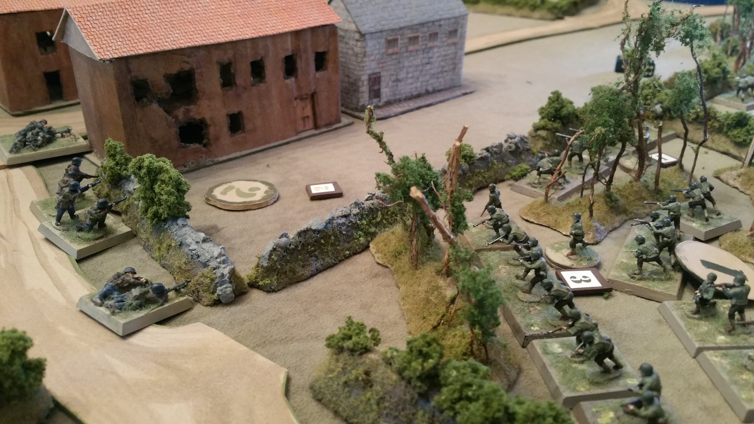 The 82nd attacks the Town