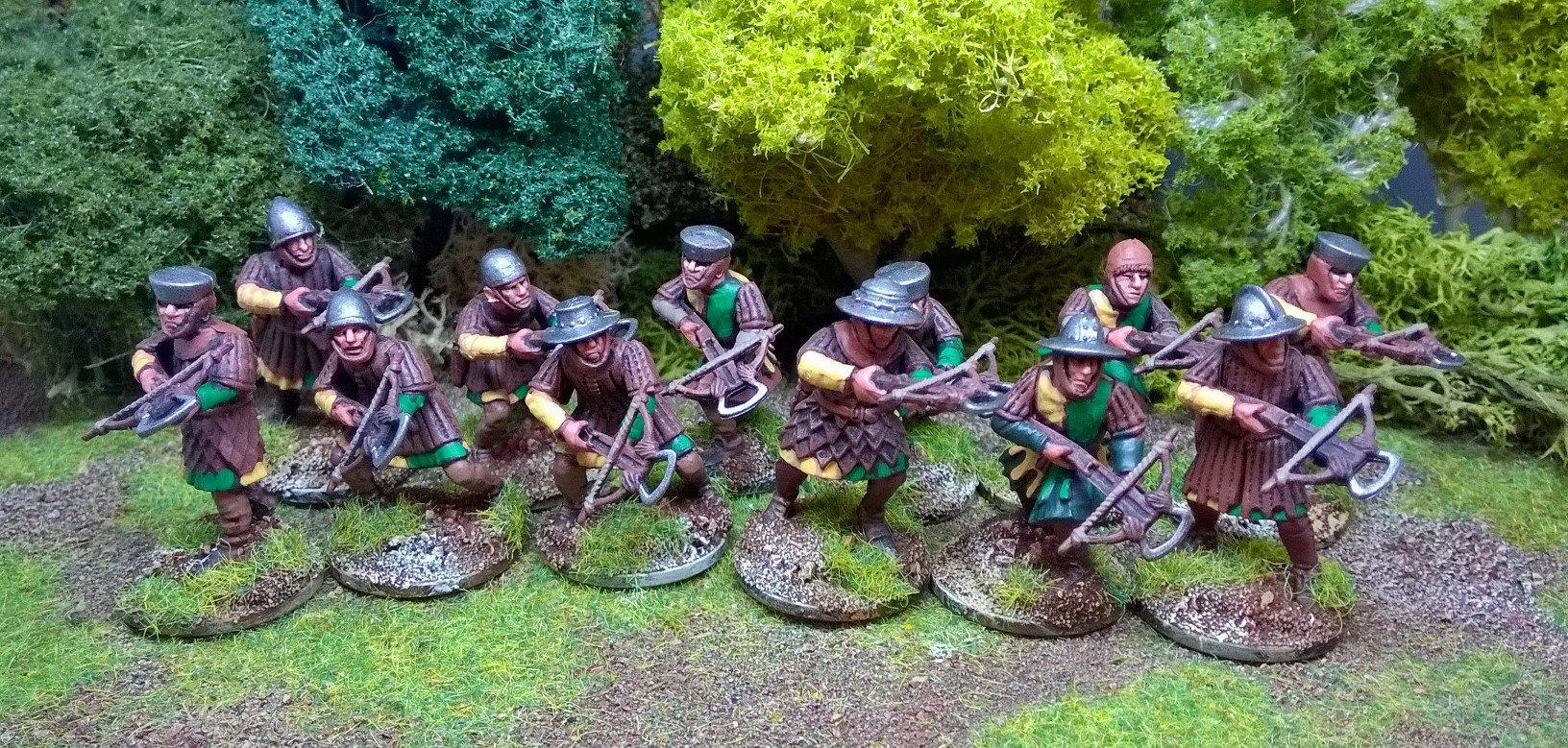 Some of Matt's crossbowmen