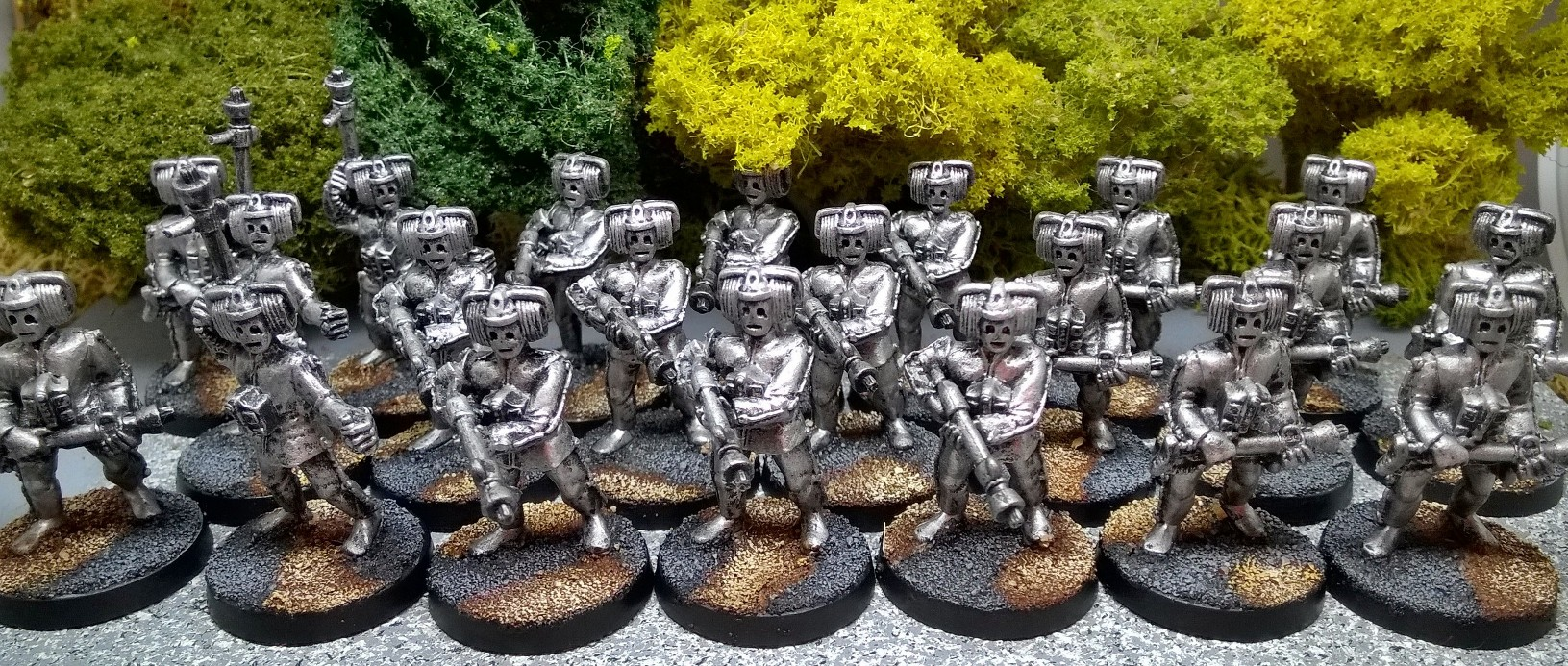 """When the tower is in our hands..."" Cybermen from Matt Slade"