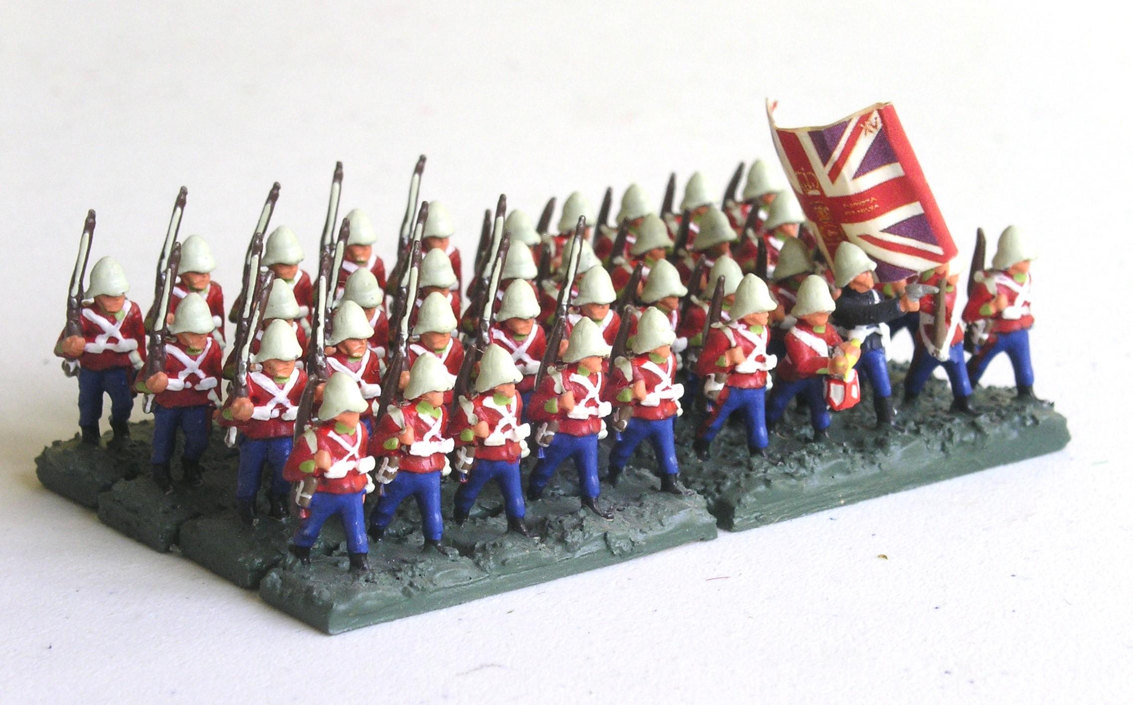 Battalion:  24th Foot