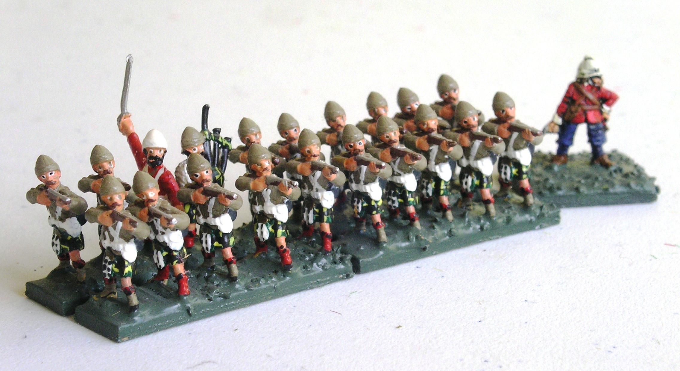 ½ Battalion: 78th Highlanders