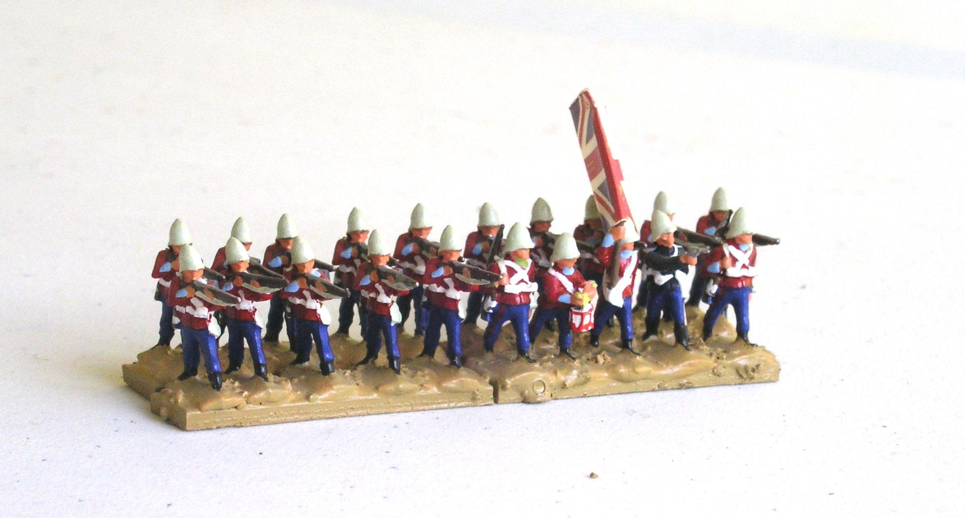 ½ Battalion:  43rd Foot