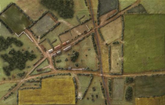 A bird's eye view of the battlefield
