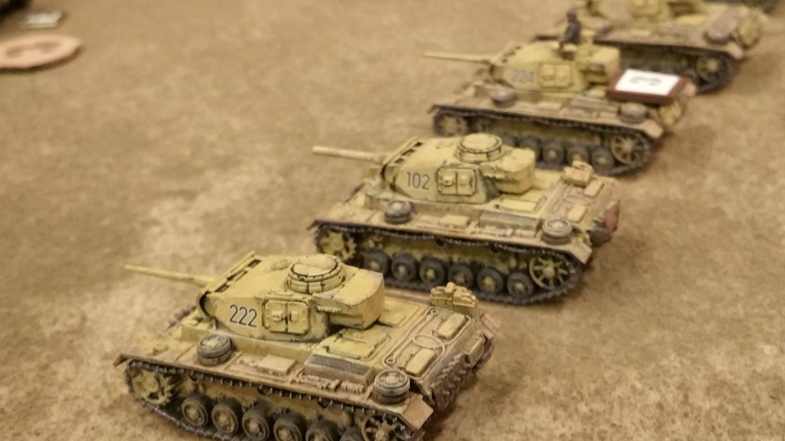 The AFRIKA KORPS ADVANCES