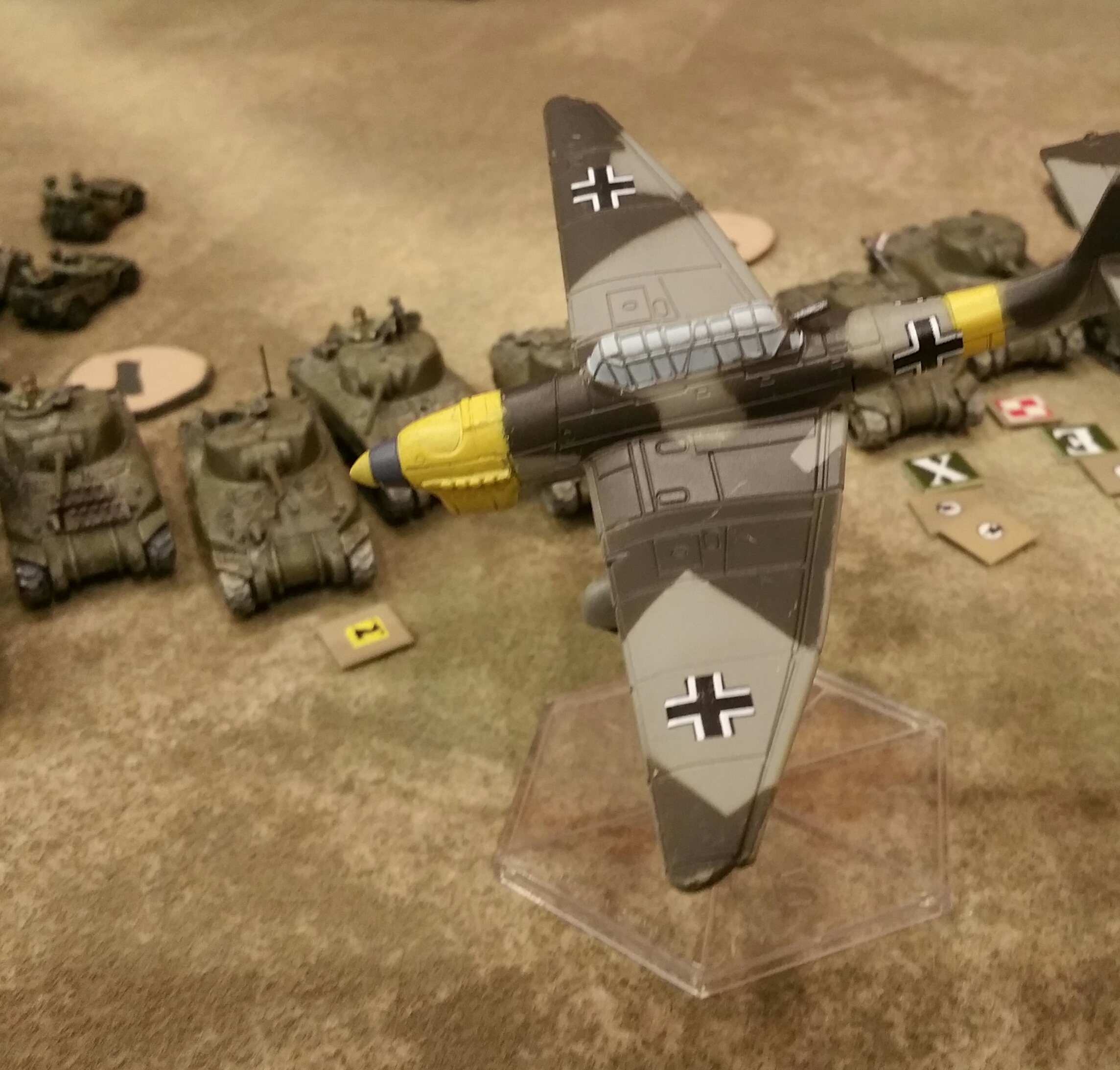 belated stuka strike