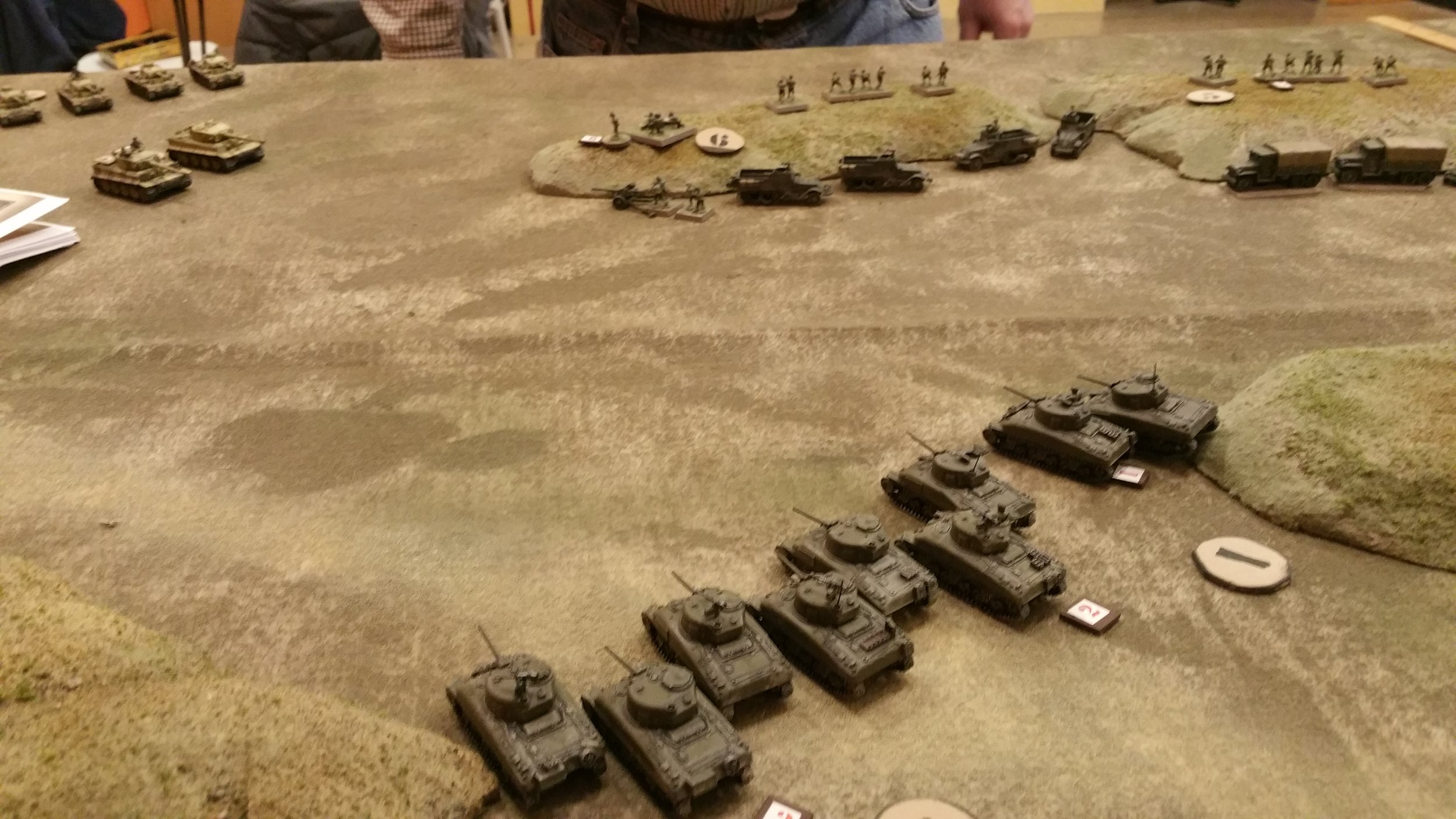 US Left Flank Meets the Tigers