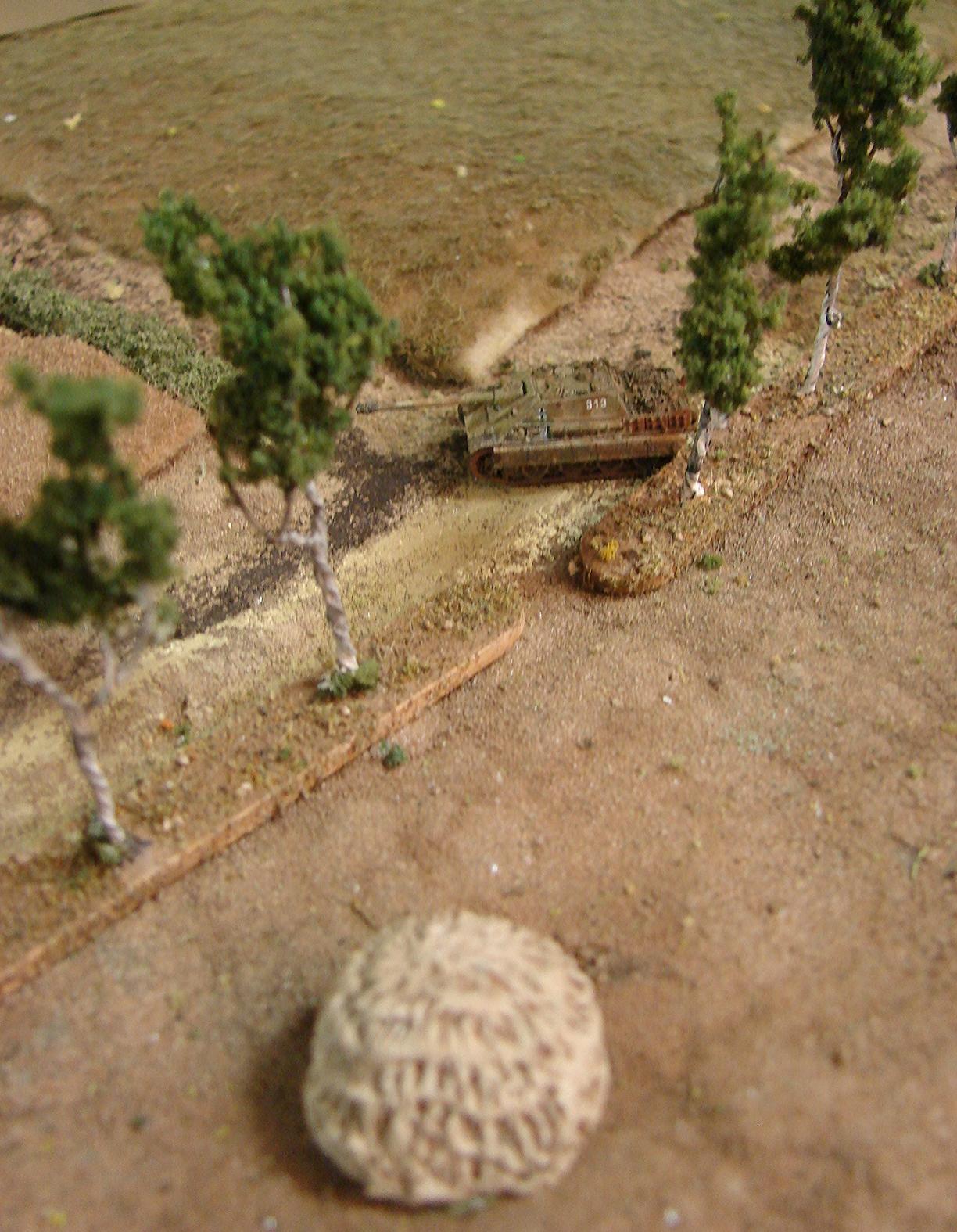 Nice shot of Second Jagdpanther