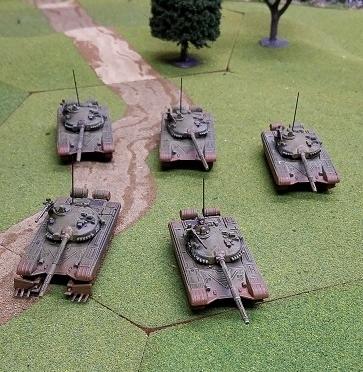 Soviet tanks from Mr Davenport